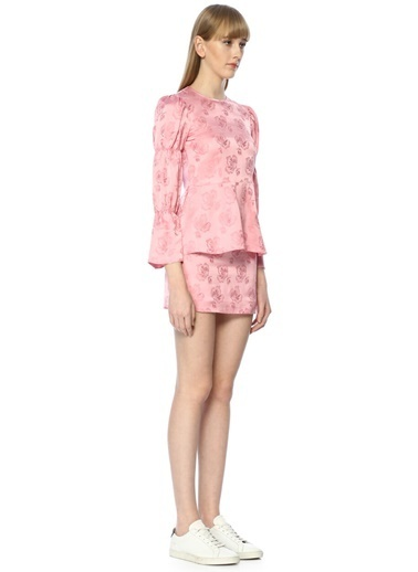 Alexa Chung for AG Mini Etek Pembe